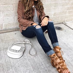 Frye Chrissy Side Ghillie Sandals